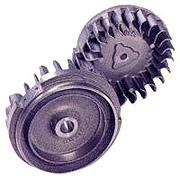 機械と鋳物イメージ