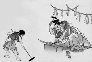 刀鍛冶の現場イメージ